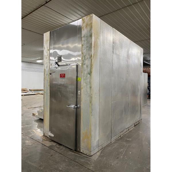 "6' x 12' x 10'6""H Kysor-Needham Walk-in Freezer with Floor"