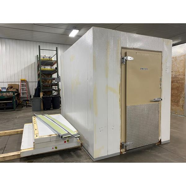 "6'9"" x 9'7"" x 8'4""H Kysor-Needham Walk-in Cooler with New Refrigeration System"