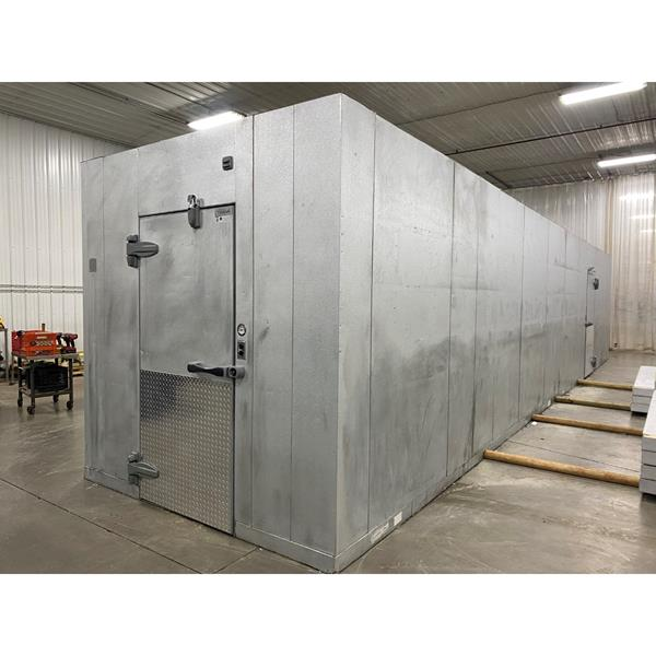 "8' x 38'9"" x 8'6""H Kolpak  Walk-in Cooler or Freezer with Floor"