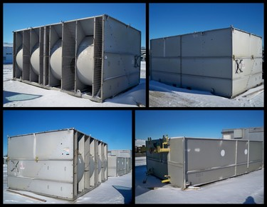 Used Baltimore Aircoil BAC Evaporative Condenser