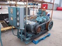 Used ammonia compressor.