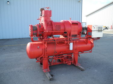 Used Ammonia Screw Compressor