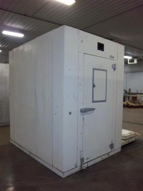 Small used walk-in cooler.