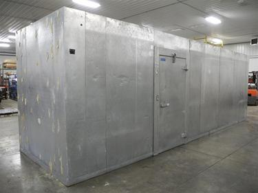 "Used Walk In Coolers For Sale >> Thermalrite 7' x 25' x 8'6""H Walk-in Freezer : Barr ..."