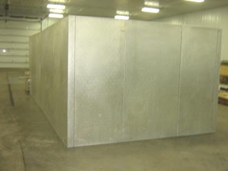 Walk In Cooler Panels >> Elliot-Williams Walk-In Coo Walk-in Cooler | Barr Commercial Refrigeration